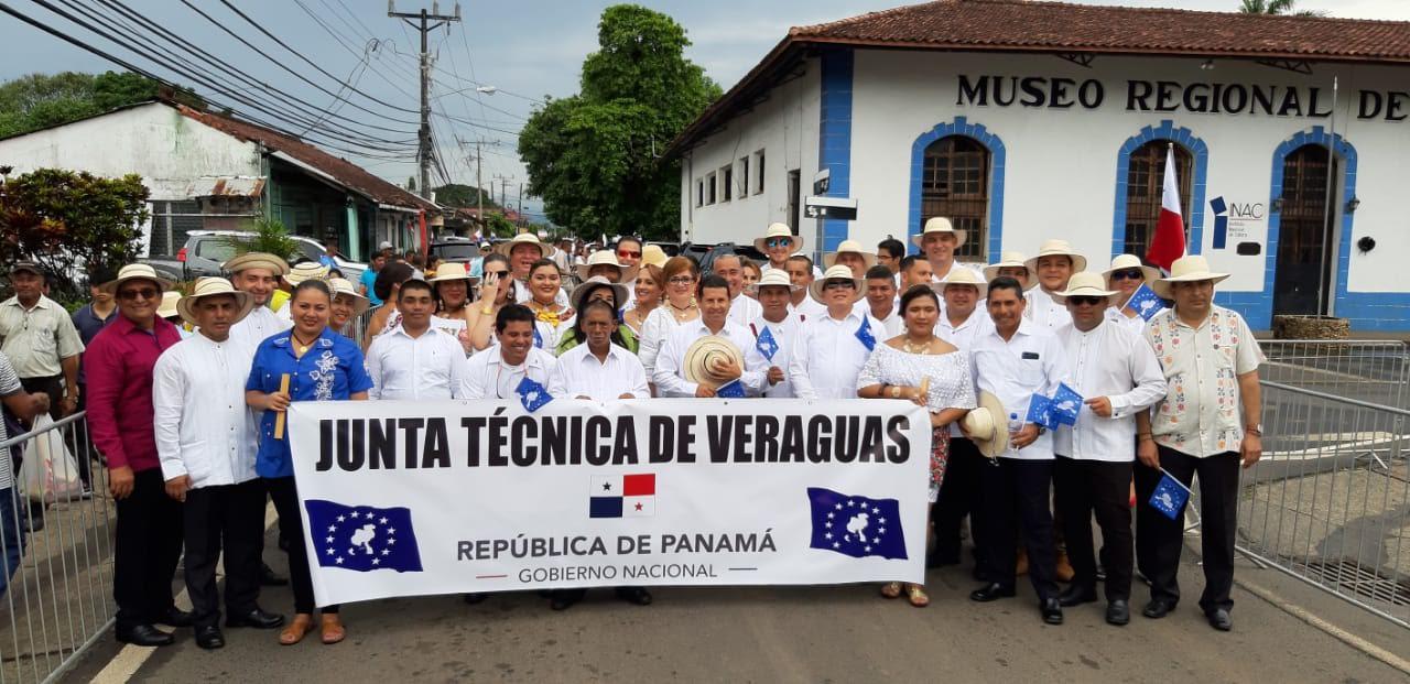 Secretaría Provincial de Veraguas presente en actos cívicos