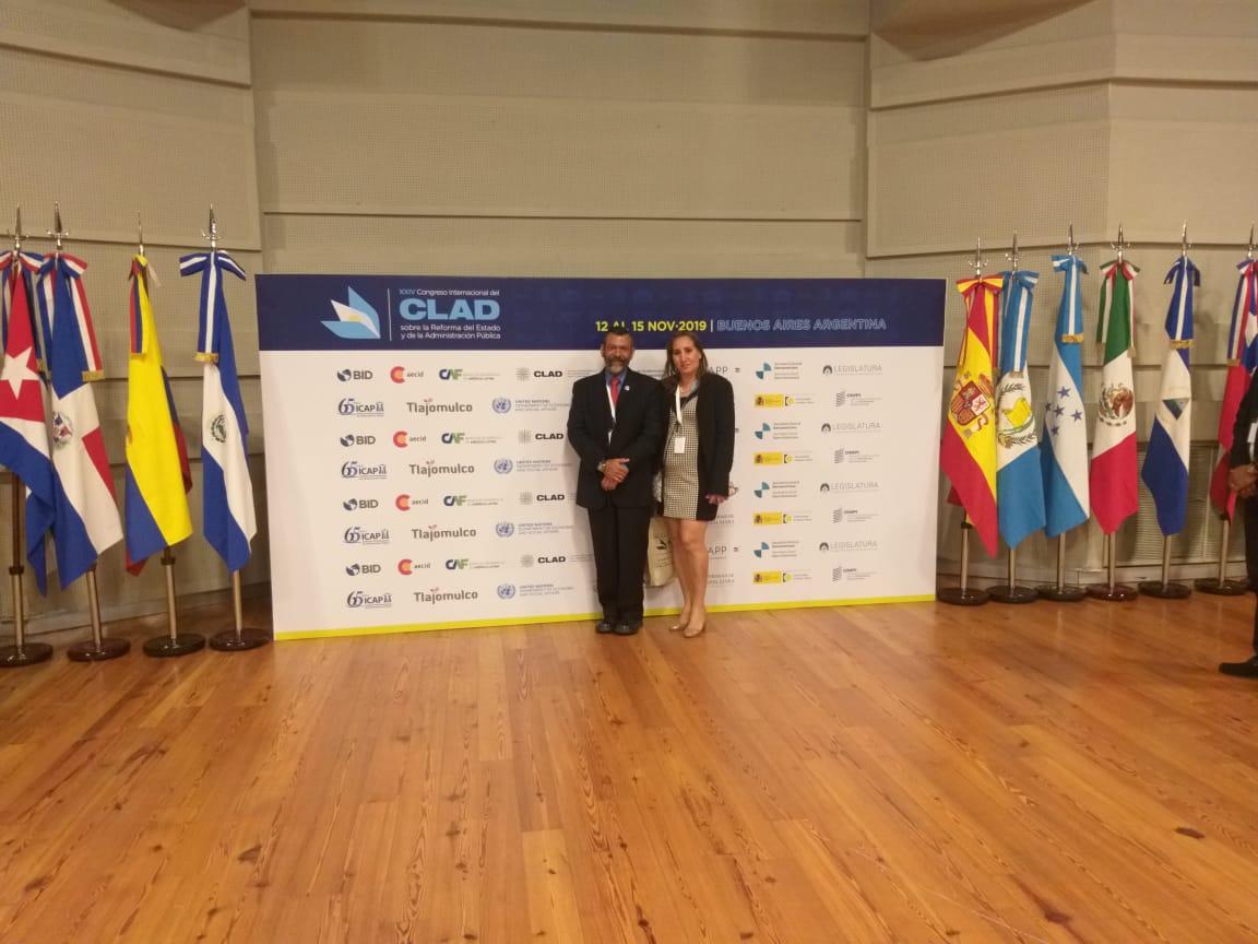 Procuraduría de la Administración presente en Congreso CLAD 2019 en Argentina