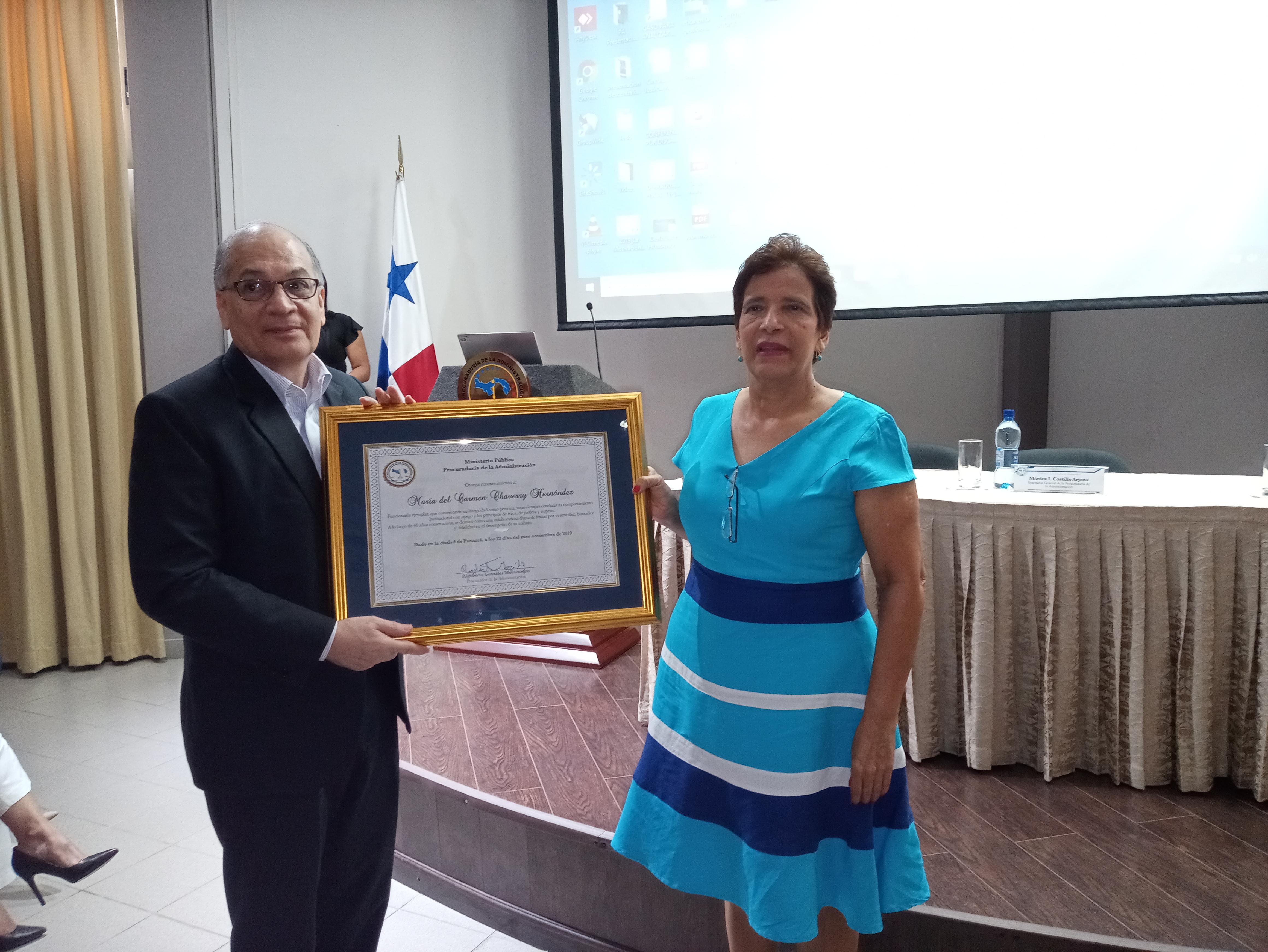 Carmen Chaverry: 40 años al servicio judicial con entrega, esmero y vocación