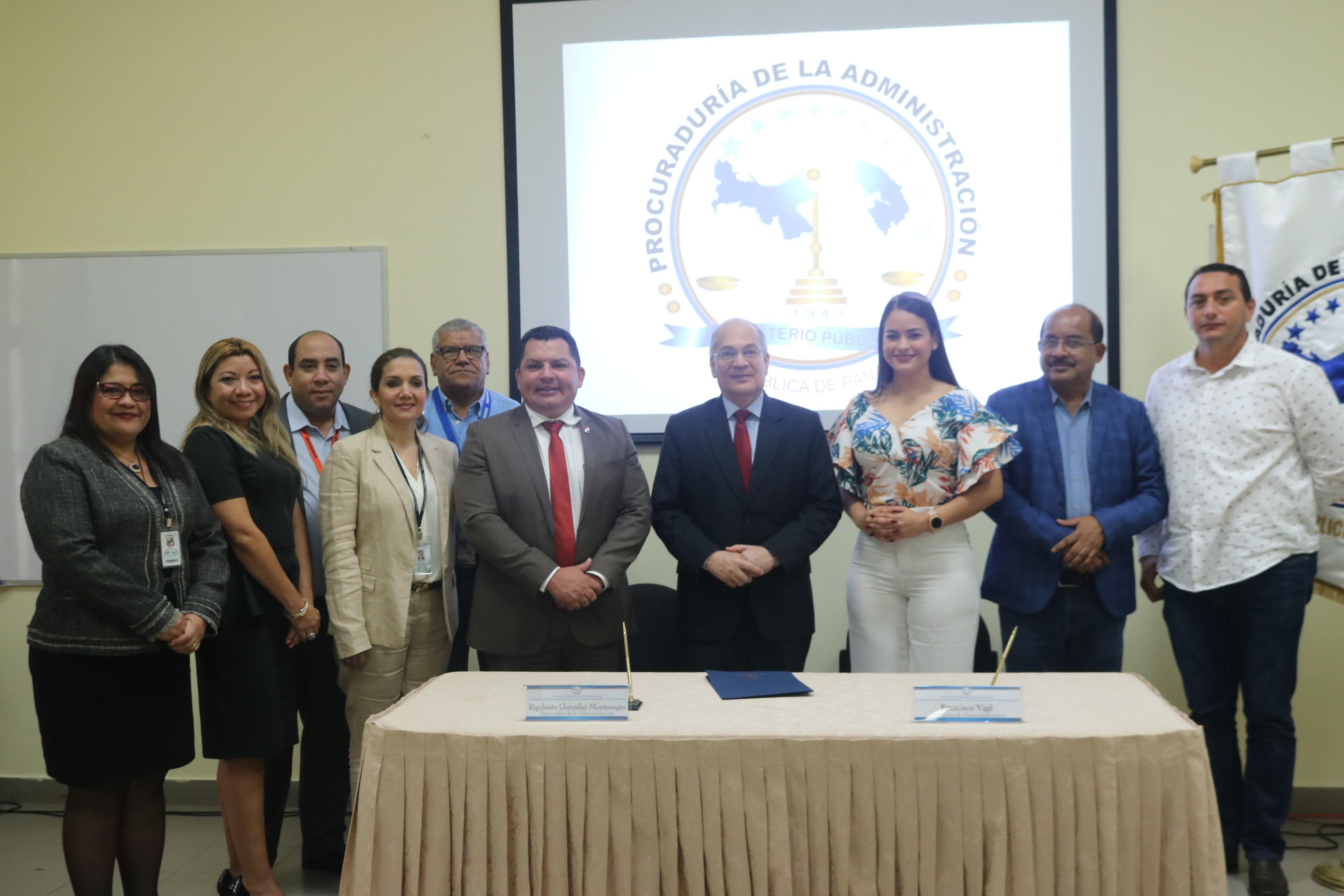 Procuraduría de la Administración y Secretaría de Descentralización firman convenio interinstitucional