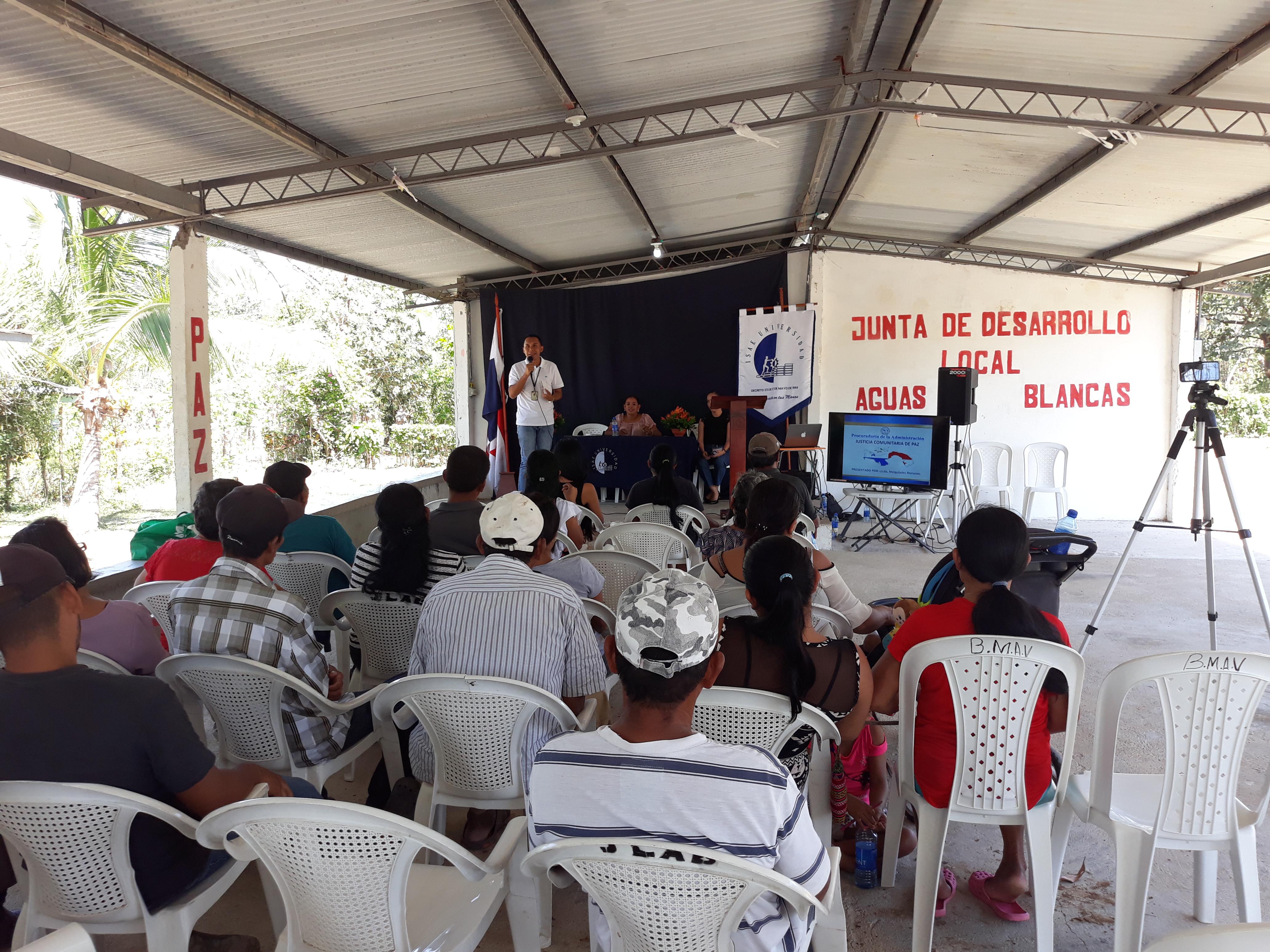 Secretaría Provincial de Coclé explica aspectos sobre Justicia comunitaria de Paz