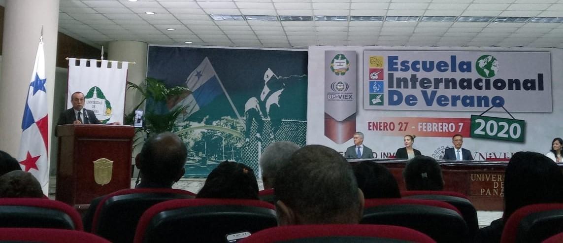 Geopolítica del conocimiento, conferencia inaugural de la Escuela Internacional de Verano de la Universidad de Panamá