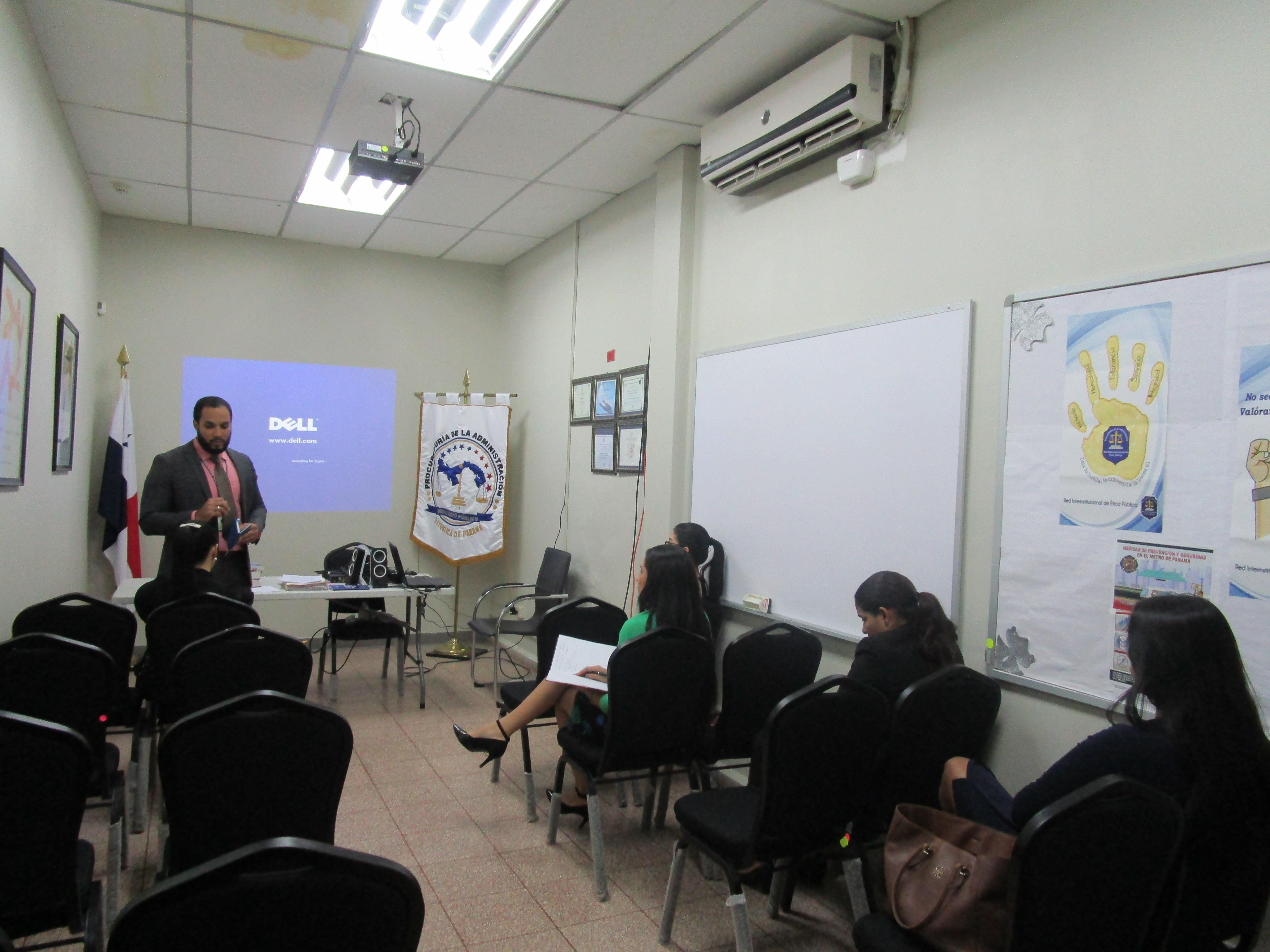 Capacitación al departamento legal de Gobernación de Chiriquí