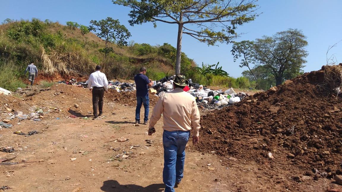 Procuraduría de la Administración realiza diligencia en vertedero de Santa María provincia de Herrera