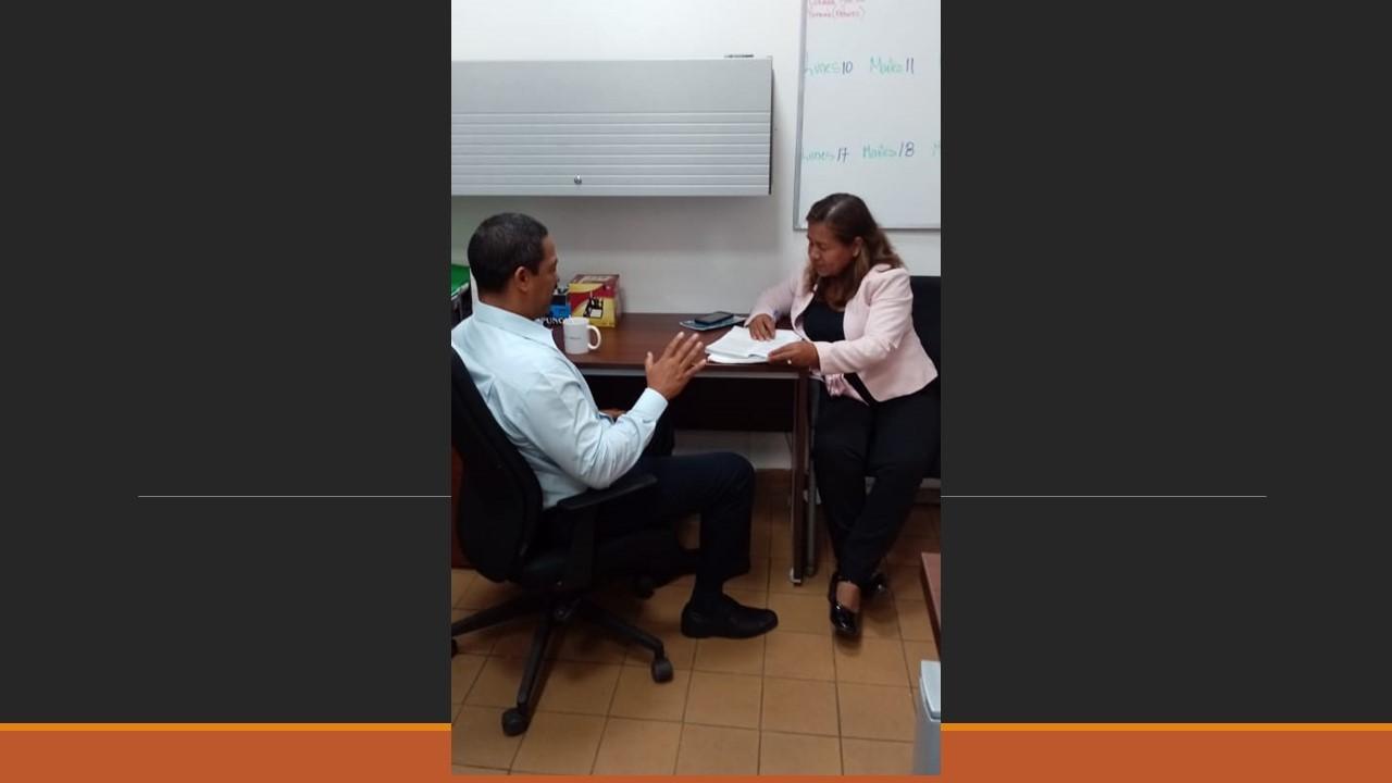 Asistencia técnica juez de paz del Corregimiento de Cirí en Capira