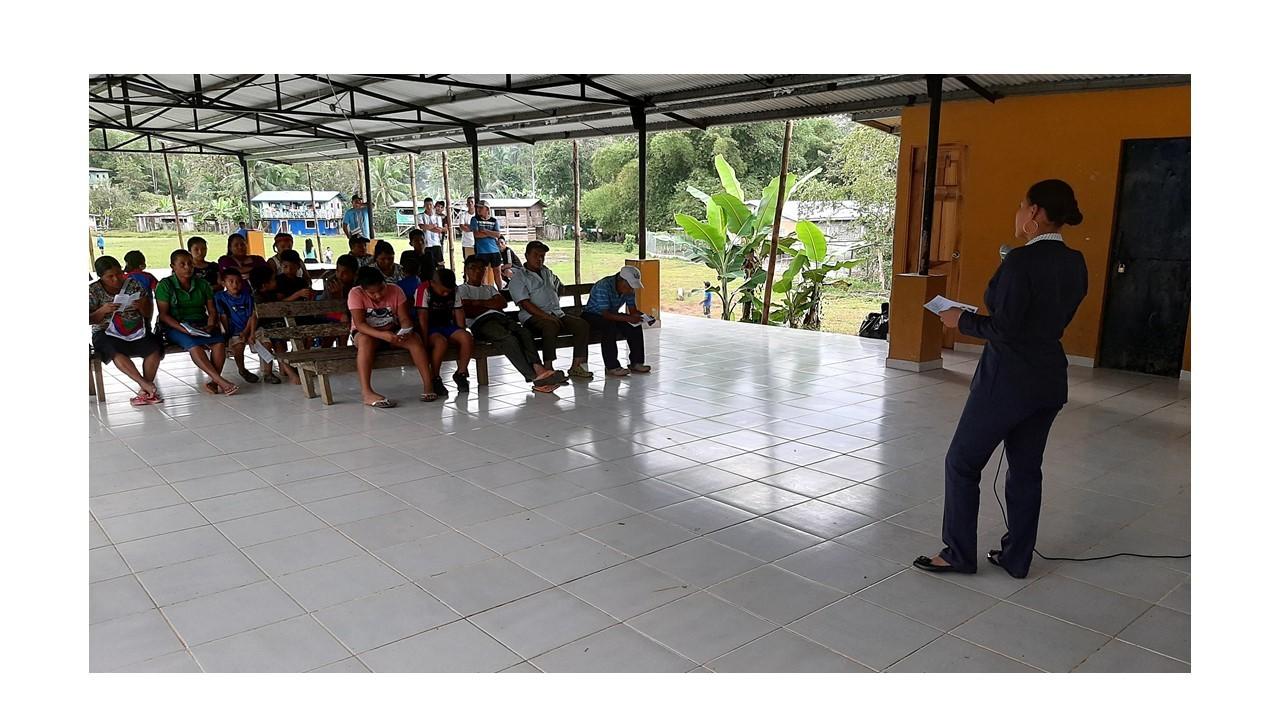 El Centro de Mediación Comunitaria de Changuinola capacita a líderes mediadores