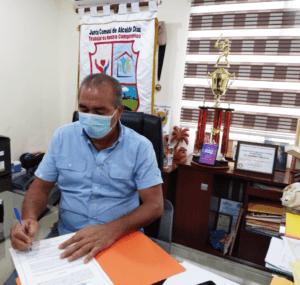 Convenio de colaboración Procuraduría de la Administración y Junta Comunal de Alcalde Díaz