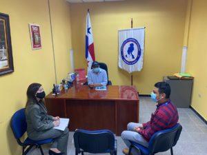 Acercamiento con autoridades locales en la provincia de Veraguas