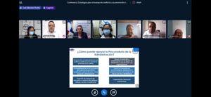 Conferencia virtual:  Estrategias para el manejo de conflictos y la prevención de la violencia en las comunidades