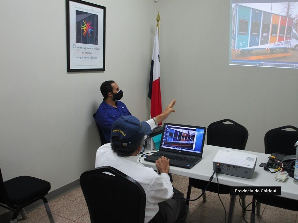Secretaría Provincial de Chiriquí recibe la visita de ambientalistas