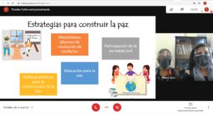 Programa de Mediación Comunitaria participa en calidad de tallerista