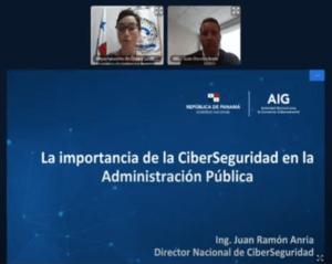 """Conferencia virtual """"La importancia de la Ciberseguridad en la Administración Pública"""""""