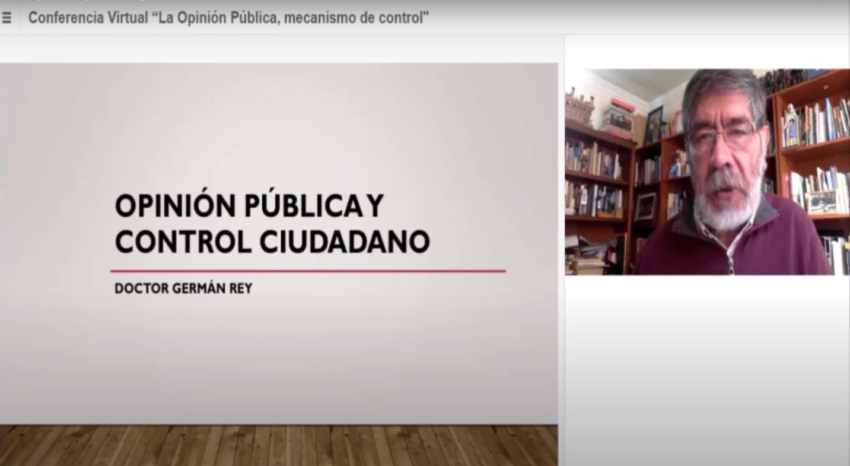"""CONFERENCIA INTERNACIONAL """"OPINIÓN PÚBLICA: MECANISMO DE CONTROL"""""""