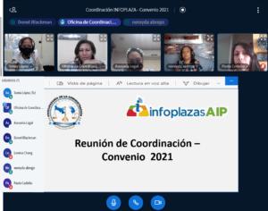 Reunión de coordinación – Definiendo líneas para la firma de convenio marco entre la Procuraduría de la Administración e INFOPLAZAS