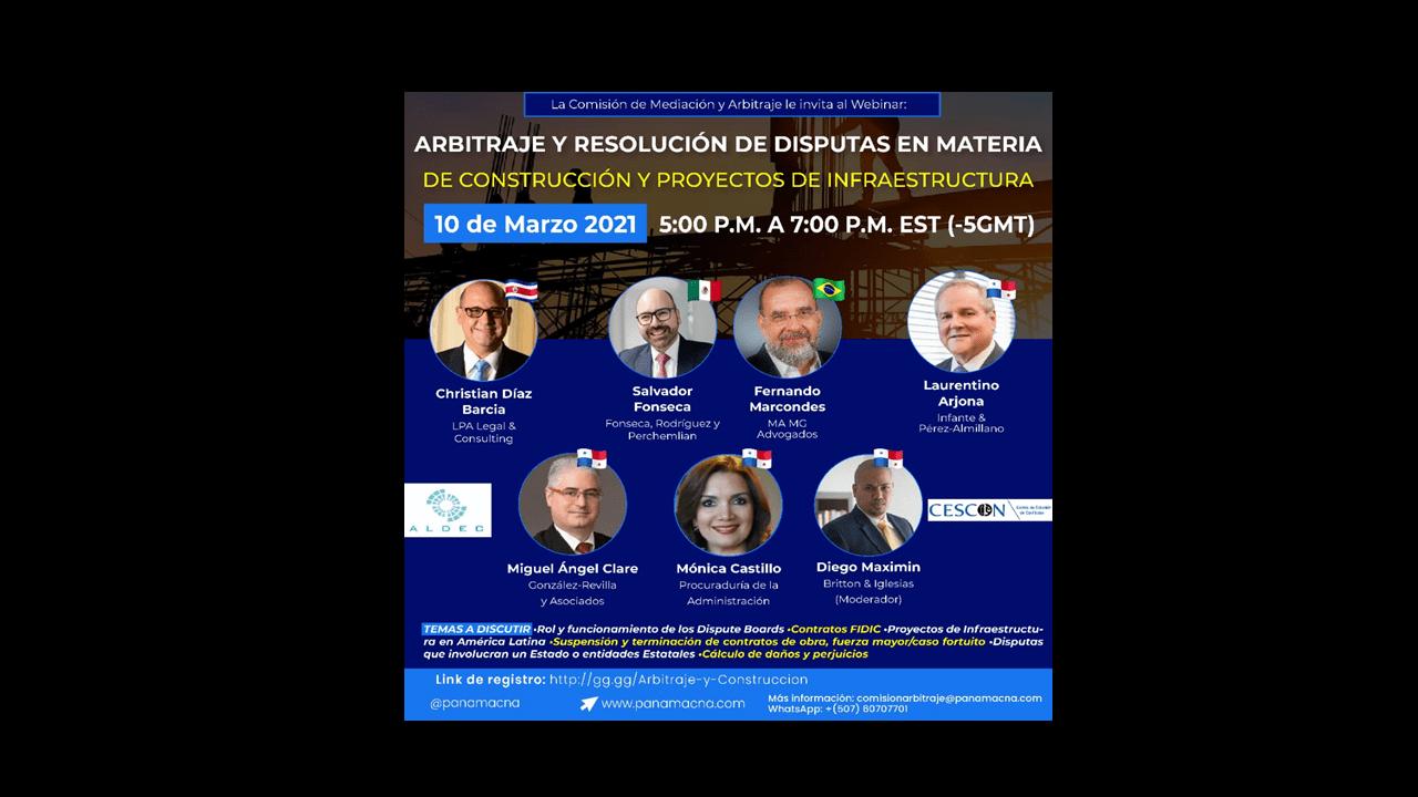 Procuradora suplente Mónica Castillo disertó como panelista en conferencia internacional sobre Arbitraje y Resolución de Disputas