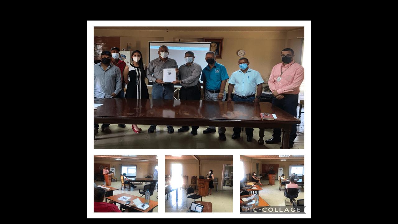 Proyecto de Fortalecimiento Institucional y la participación ciudadana en el Municipio de Santa María