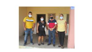 Visita a la junta comunal del corregimiento de Tinajas, Municipio de Dolega, provincia de Chiriquí