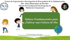 "Reunión de coordinación – Proyecto ""Semillitas constructoras de paz"""