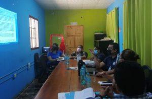 Reunión con alcalde y servidores públicos del municipio de Ocú