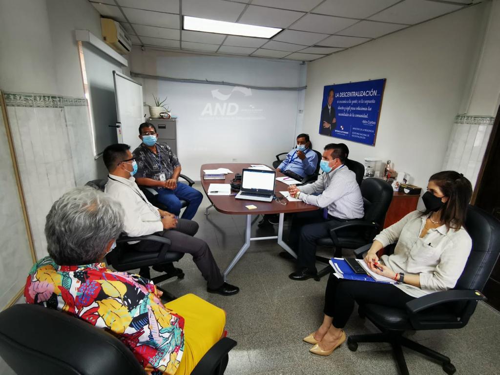 SECRETARIA DE ASUNTOS MUNICIPALES DE VERAGUAS SE REÚNE CON AUTORIDAD NACIONAL DE DESCENTRALIZACIÓN (AND).