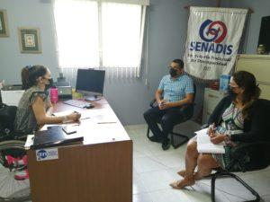 Reunión con Directora del SENADIS de Herrera