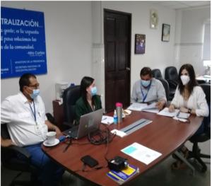 Secretaría de Asuntos Municipales coordinación de Veraguas realiza asistencia técnica con la Autoridad Nacional de Descentralización