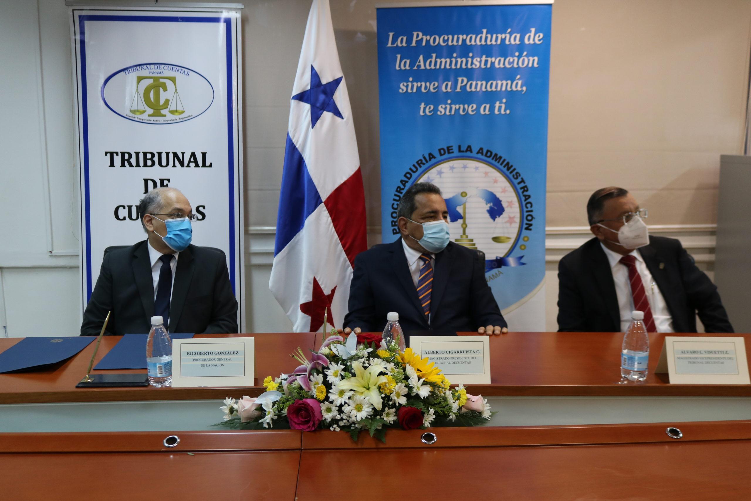 Procuraduría de la Administración y Tribunal de Cuentas fortalecen vínculos de colaboración