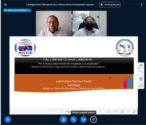 Taller virtual Estrategias para el Manejo de los Conflictos dentro de los entornos laborales