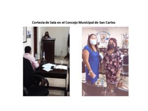 Cortesía de Sala en el Concejo Municipal de San Carlos