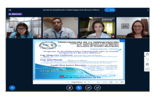 Jornada de Sensibilización y Capacitación de la Gestión de los Recursos Hídricos