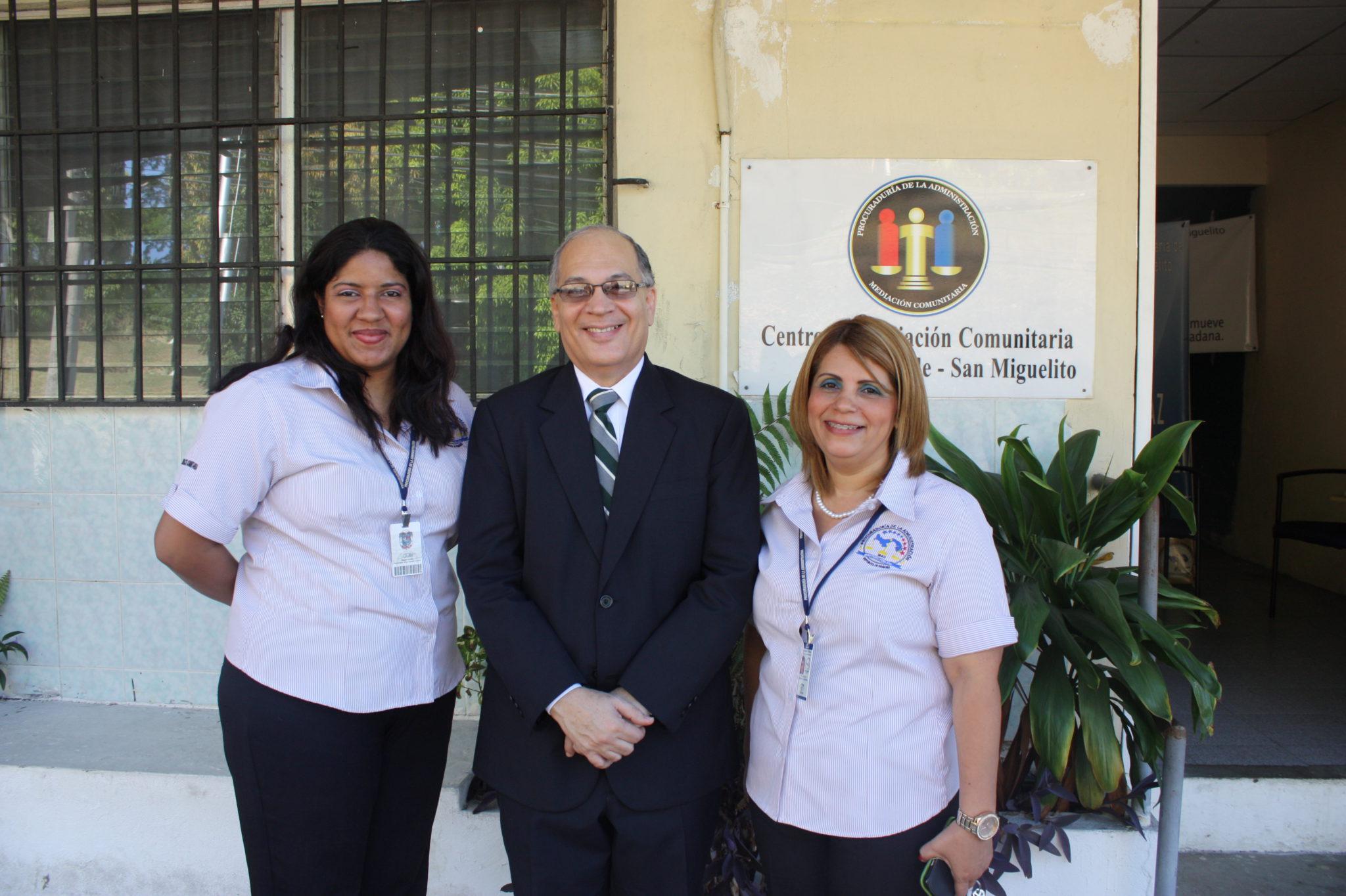 Lee más sobre el artículo Visita al Centro de Mediación Comunitaria de San Miguelito