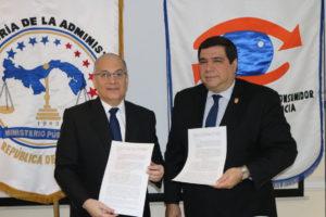 Lee más sobre el artículo Procuraduría de la Administración y ACODECO firman convenio
