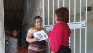 Lee más sobre el artículo Secretaría Provincial  y  el Centro de Mediación Comunitaria de Guararé realizan  sensibilizaciones