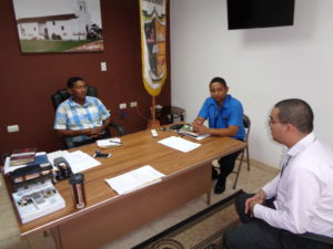 Lee más sobre el artículo Acercamiento a los alcaldes de la provincia de Herrera