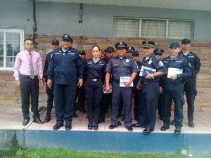 Lee más sobre el artículo Se capacitan a unidades de la Policía Nacional de la subestación de Chame