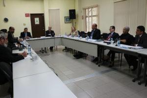 Lee más sobre el artículo Reunión de integrantes de la mesa técnica del Pacto de Estado por la Justicia
