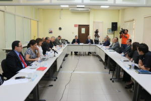 Lee más sobre el artículo Pacto de Estado por la Justicia brinda cortesía de sala a miembros de la Sociedad Civil