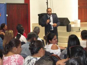 Lee más sobre el artículo Finalización del curso a aspirantes al cargo de jueces de paz en la  provincial en Chiriquí