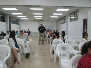 Lee más sobre el artículo Conversatorio en la USMA de la provincia de Chiriquí