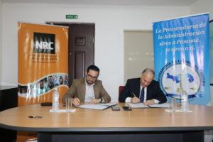 Lee más sobre el artículo Firma de convenio de cooperación entre la PA  y el NRC