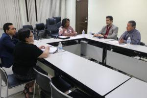 Lee más sobre el artículo Reunión de coordinación con personal del Centros de Estudios Democráticos del Tribunal Electoral