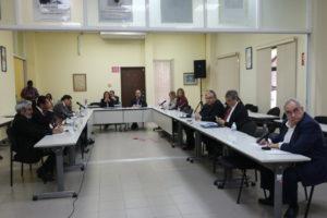 Lee más sobre el artículo Miembros de la Comisión de Estado por la Justicia se reúnen con candidatos presidenciales