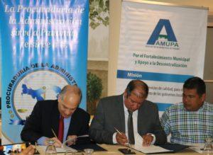 Lee más sobre el artículo Firma de convenio entre la PA y AMUPA