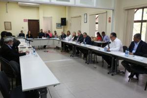 Lee más sobre el artículo Comisionados del Pacto de Estado por la Justicia se reúnen con el candidato Marco Ameglio