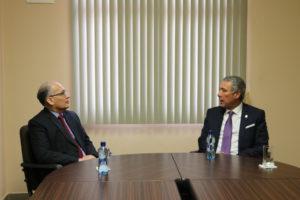Lee más sobre el artículo Procurador de la administración recibe visita del magistrado Olmedo Arrocha