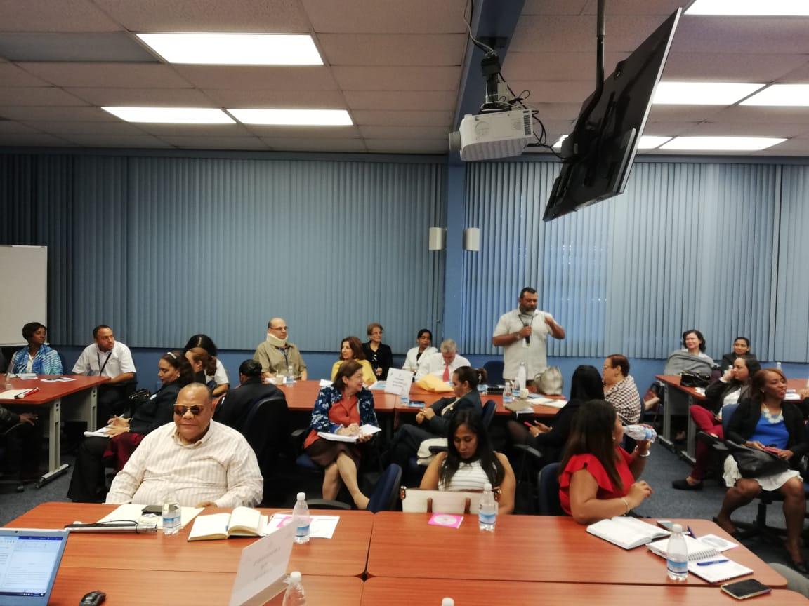 Lee más sobre el artículo Reunión técnica  de las  comisiones del CONADIS