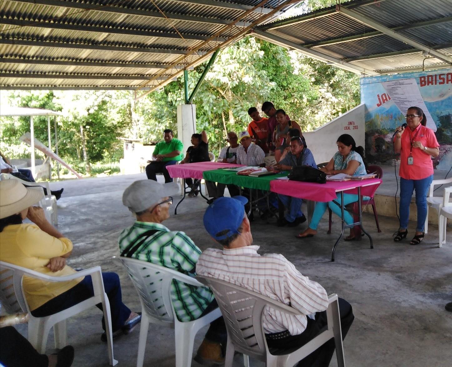 Lee más sobre el artículo Sensibilización en la comunidad de Santa Rita del distrito de Boquerón