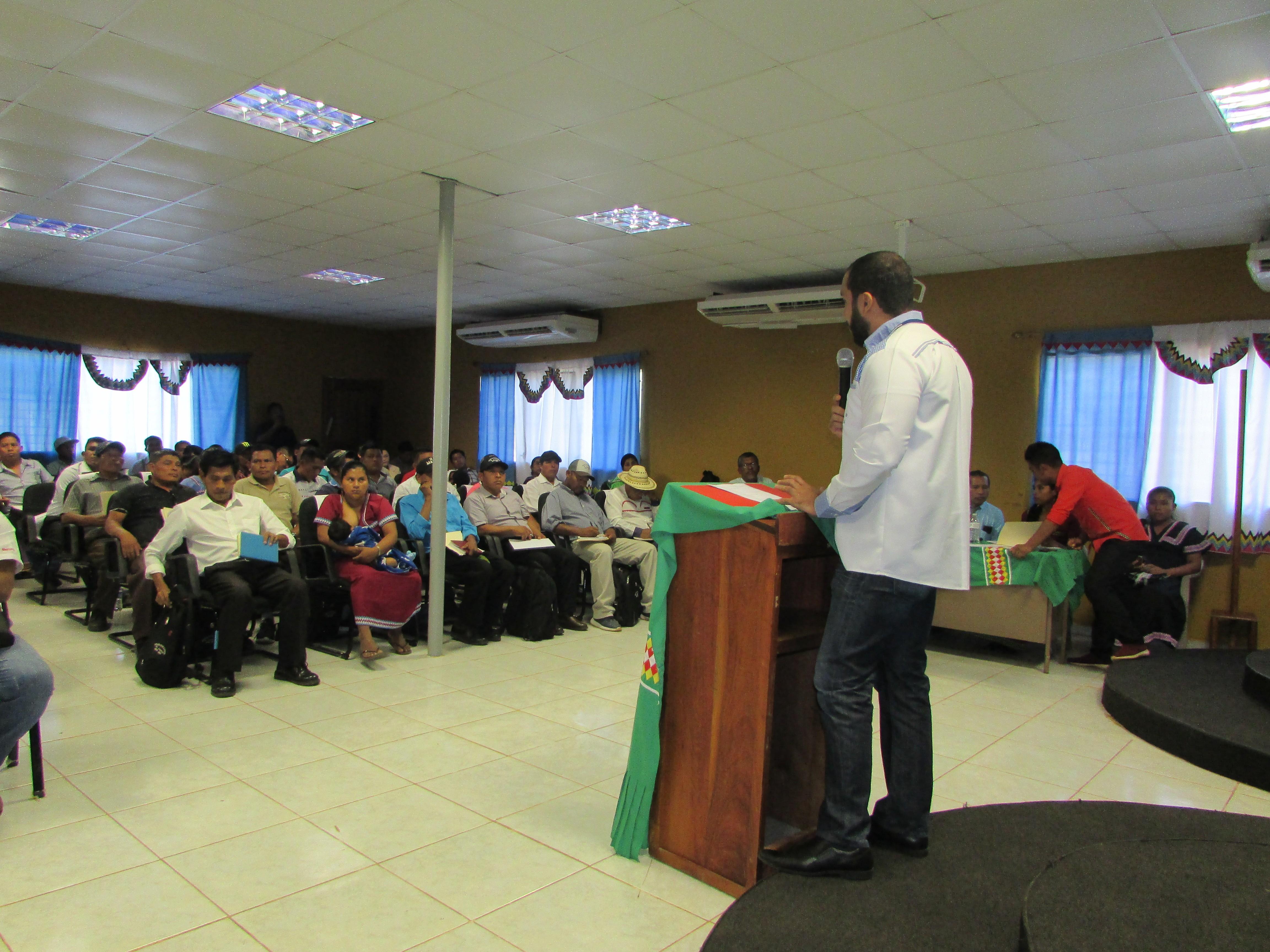Lee más sobre el artículo Secretaría Provincial de Chiriquí participa del Concejo General Comarcal