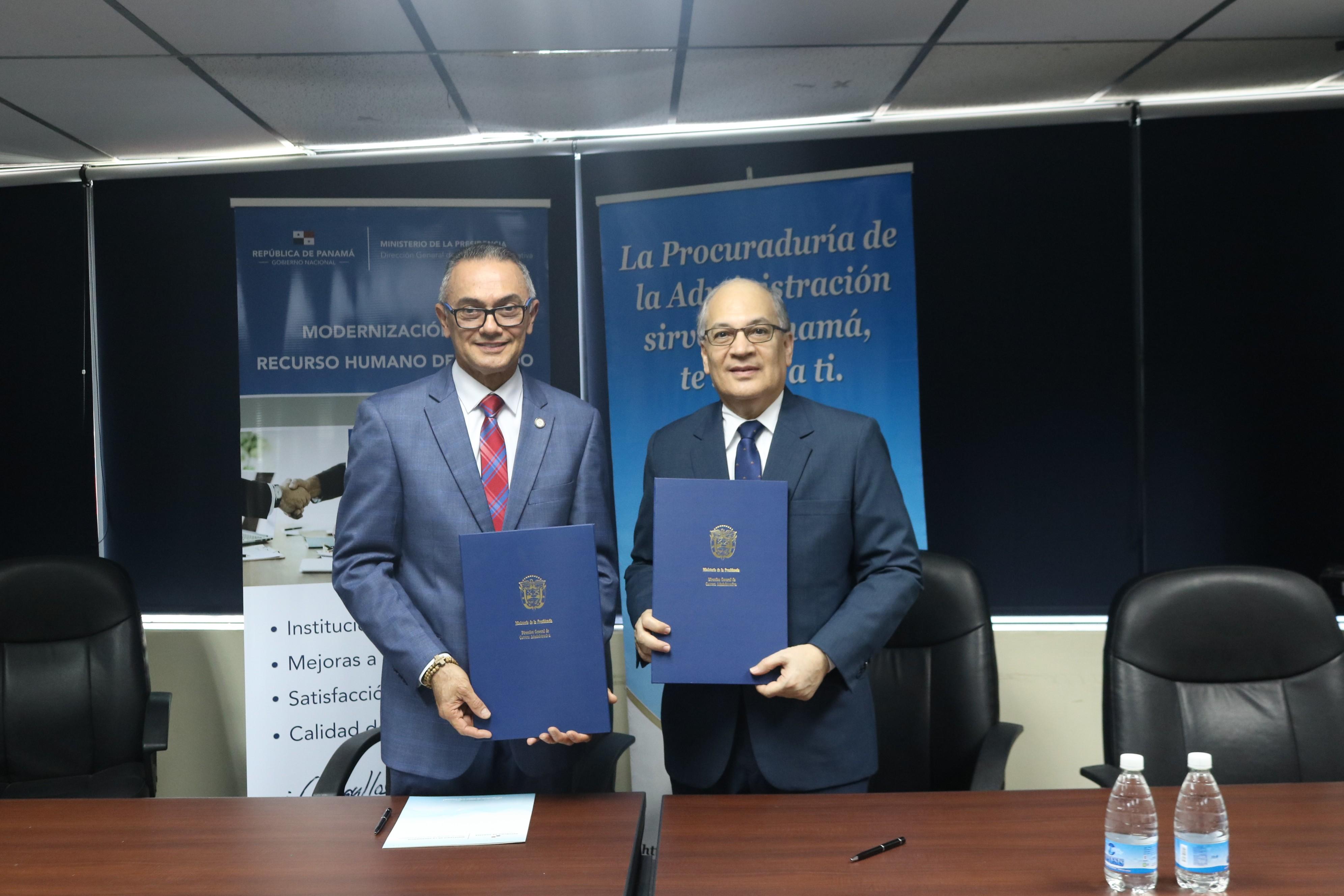 Lee más sobre el artículo Procuraduría de la Administración y DIGECA suscriben convenio marco de cooperación interinstitucional