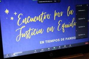 Lee más sobre el artículo Encuentro nacional de justicia en equidad en tiempos de pandemia